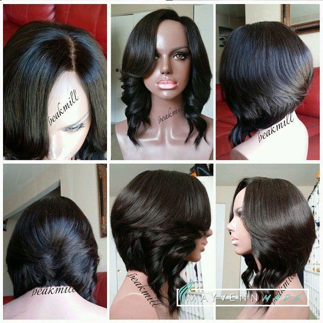 Short Wig Unit By Peak Mill Using Mayvenn Hair Mayvenn Wigwerk Pinterest Tyxgb76aj Quot Gt This Follow Me And Love This