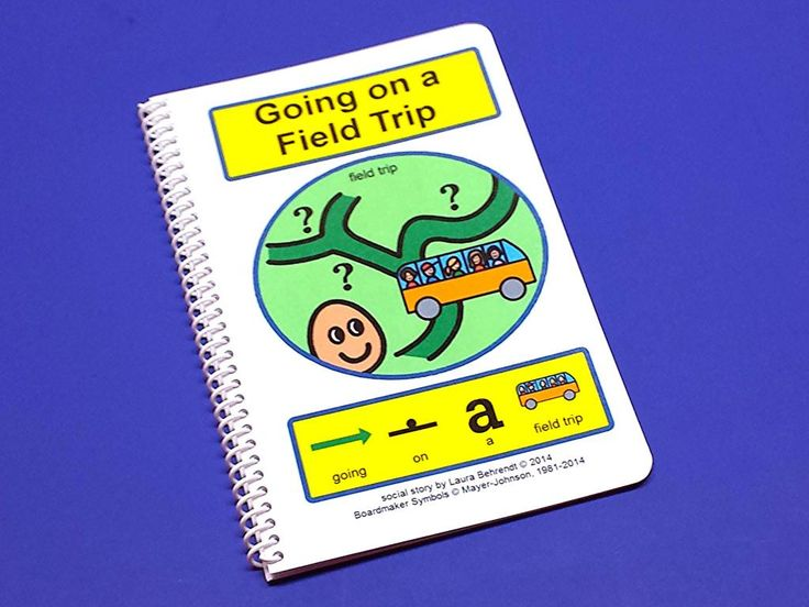 Going on a Field Trip - PECS Autism Social Skills Story - NEW!!!