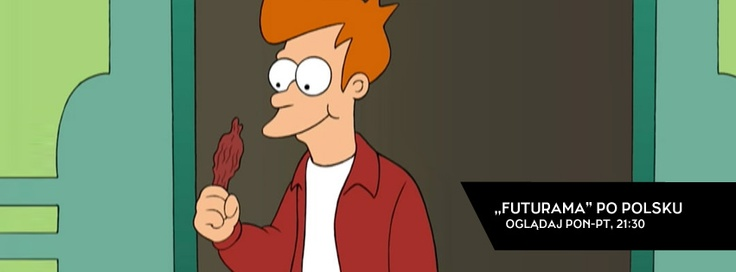 Futurama! Oglądajcie z polskim dubbingiem na VIVA Polska o 21:30!