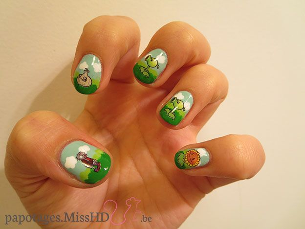 Review : Water Decals BLE1568 Plantes contre Zombies