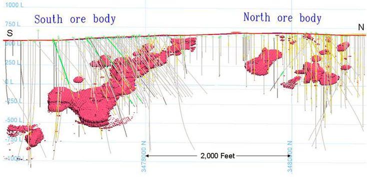 Geology of Coles Hill (Pittsylvania County, VA) uranium
