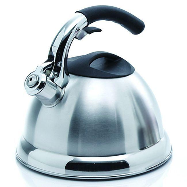 International Creative Home Avalon 3.0-quart Whistling Stainless Steel Tea Kettle