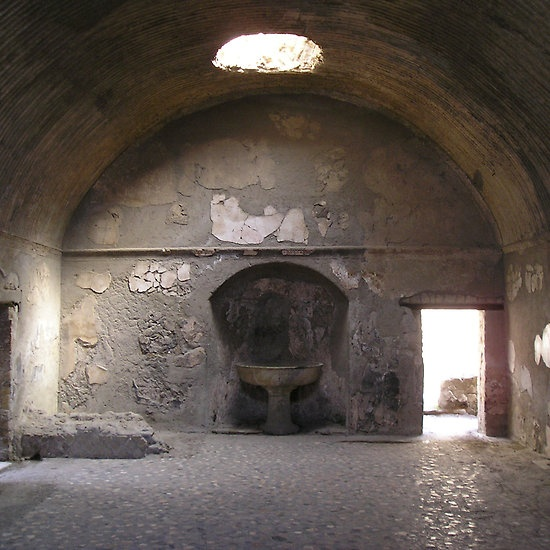 Roman Bath House, Pompeii