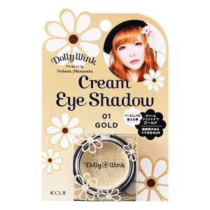 Dolly Wink Cream Eye Shadow Ⅱ No.1 Gold