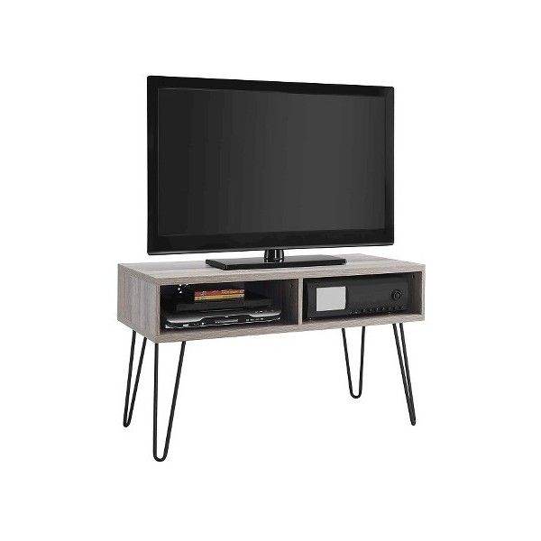 Owen U201d Retro TV Stand ($120) ❤ Liked On Polyvore Featuring Home, Furniture