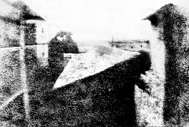 Primer Fotografía: Joseph Nicéphore Niépce.