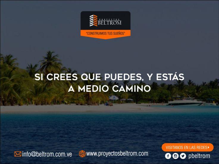 """#Frase de #Dia  Ingresa en: http://ift.tt/2pcw9de """"Si crees que puedes ya estás a medio camino""""  #contuccion #casa #house #home #hogar #nuevaesparta #vlencia #ventas #nuevo #familia #inversion #hoy #sabiasque #venezuela #panama #miami #moderno #construction #civilengineering #today #ingenierocivil #ingeniero #engineer #engineering #civil #work #construcaocivil @nahaweb"""