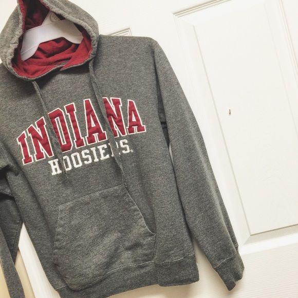 Indiana University Hoodie Good condition Indiana Tops Sweatshirts & Hoodies