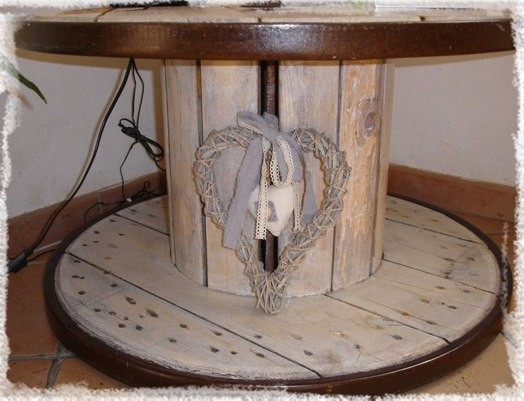 les 35 meilleures images du tableau bobines sur pinterest bobine de bois bobines de c ble et. Black Bedroom Furniture Sets. Home Design Ideas