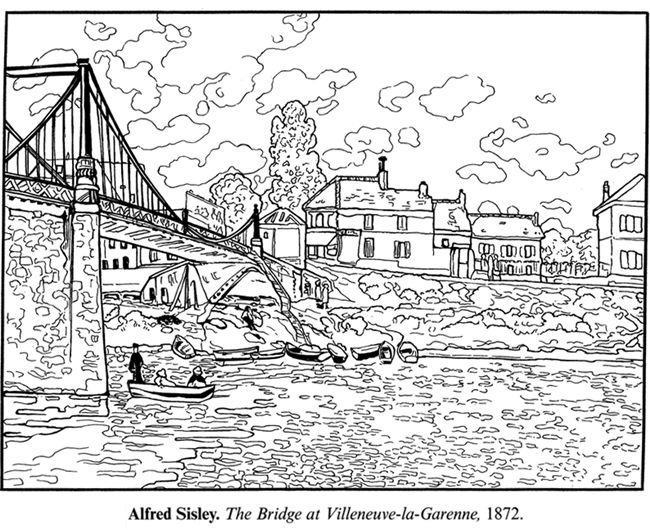 realistic masterpiece coloring pages - photo #19