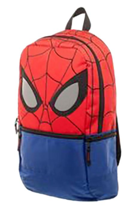 Full Scale The Marvel Spiderman Backpack with Reflective Eyes in Multi - Karmaloop.com