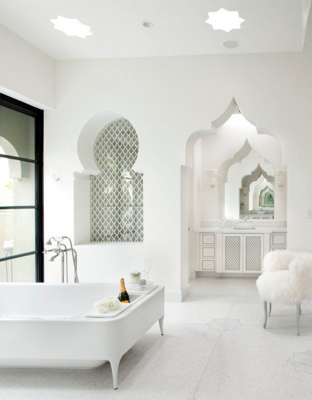 25 mediterranean bathroom design ideas - Mediterranean Bathroom Design