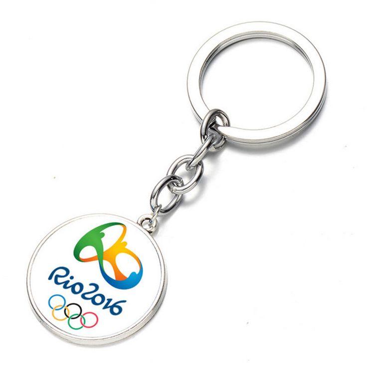 2016 Brazil Rio Olympic Games Key Holder Mascot Logo Key Chain Gift Key Ring 1pc   eBay
