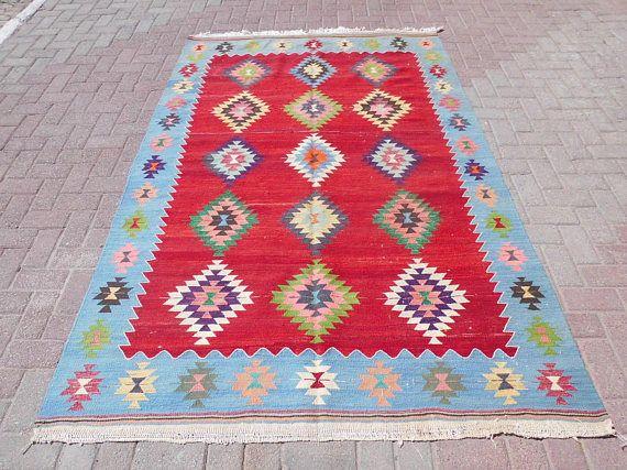 Anatolian Rug area rug vintage bohemian rug wool rug large
