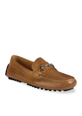 Cole Haan Tan Grant Canoe Bit Loafers