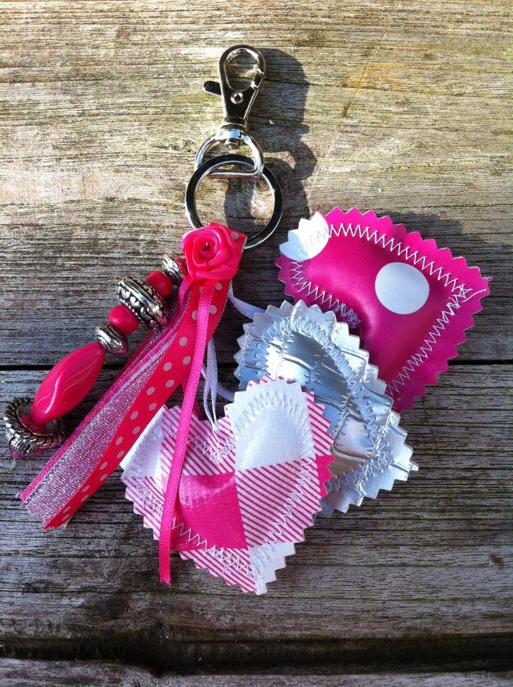 Sleutelhanger: easy to make, nice to wear!