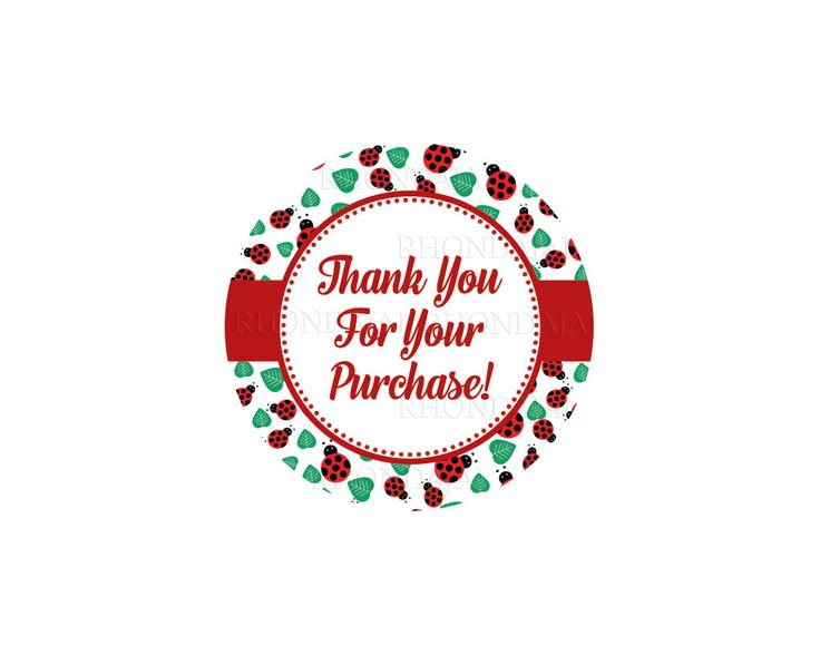 Thank you stickers printable sticker thank you for your purchase sticker thank you