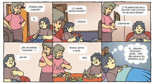Los adverbios – Adverb | spanskfordeg