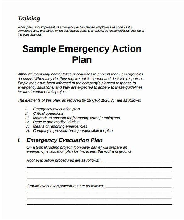 Emergency Evacuation Plan Template Free Best Of Sample Emergency Action Plan 11 Free D Emergency Action Plans Emergency Response Plan Emergency Evacuation Plan