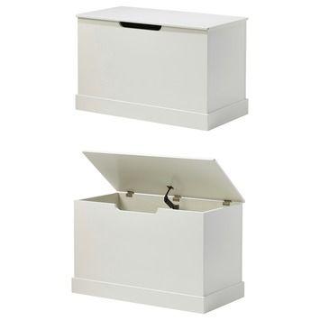 Avignon speelgoedkist hout wit 40x80x50 cm in de beste prijs-/kwaliteitsverhouding, volop keuze bij GAMMA