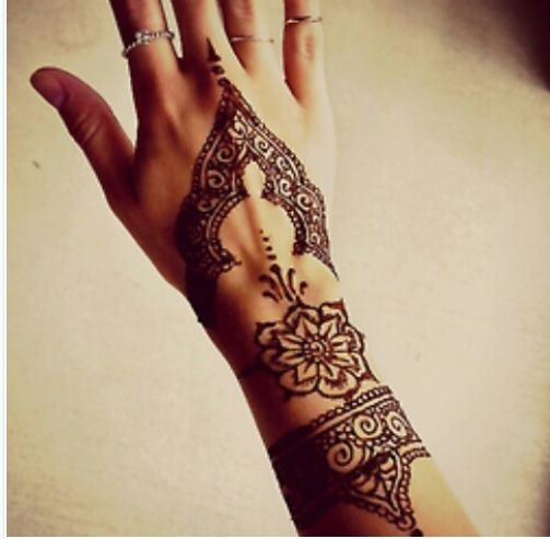 another vintage henna design