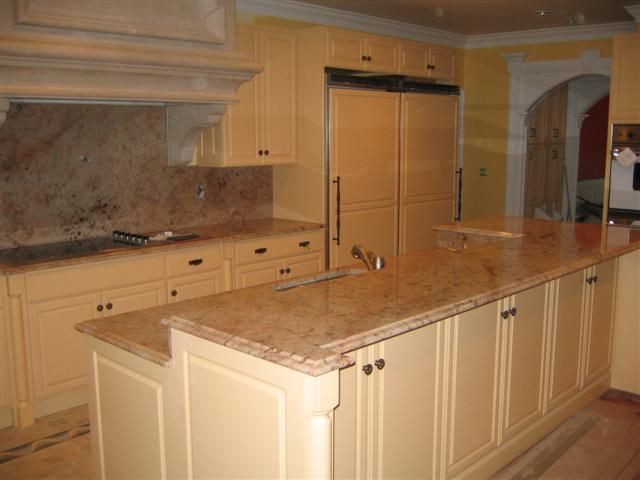 78 best images about kitchen renovation on pinterest - Two tier kitchen island ...