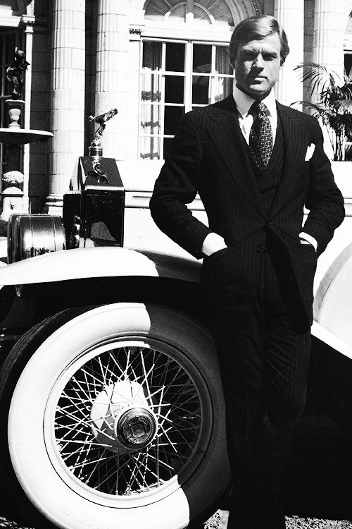 Robert Redford in a publicity still from the film 'The Great Gatsby', 1974.
