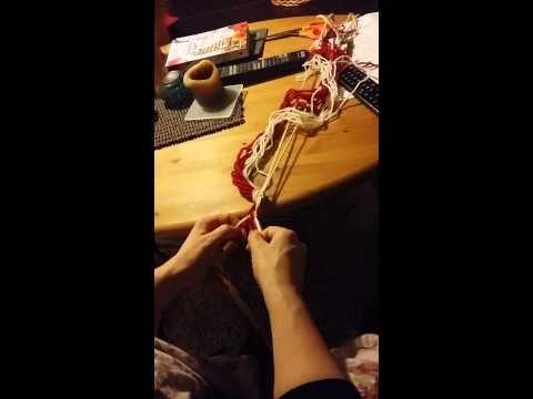 Slik fletter du sokkebånd - YouTube