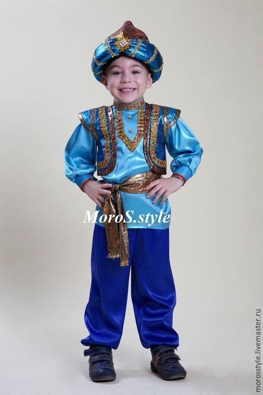 Купить костюм для мальчика Алладин - синий, карнавальный костюм, карнавал, Новый Год, костюм для мальчика