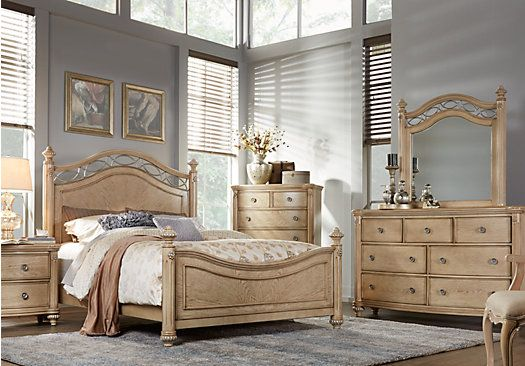 Laurel View Sand 5 Pc Queen Poster Bedroom. $999.99.  Find affordable Bedroom Sets for your home that will complement the rest of your furniture.