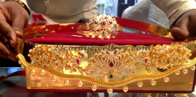 CZ Odiyanam and Arm Band