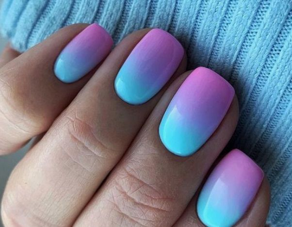 Summer Nail Trends 2020 With A Boho Twist Margarita S Galaxy In 2020 Summer Nails Ombre Nail Colors Nail Trends