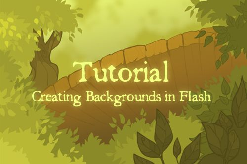 A pretty great guide to doing simple flash backgrounds for animation TUTORIAL: Flash Backrounds by Etoli.deviantart.com on @deviantART