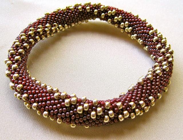 how to make a beaded crochet rope bracelet