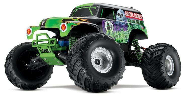 I want this... Grave Digger by Traxxas | Local Motors