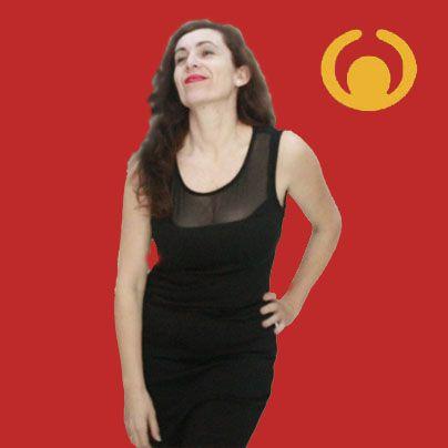 Vestido negro en Optimisti en La Carihuela, Torremolinos