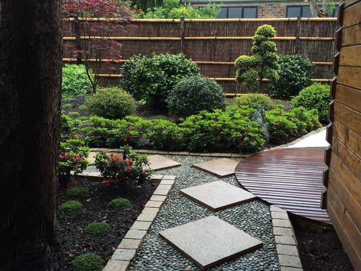 152 mejores im genes de small japanese gardens en - Jardin japones pequeno ...