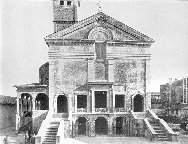 Chiesa di San Sebastiano (Mantova) - Leon Battista Alberti                                                                                                                                                                                 Plus