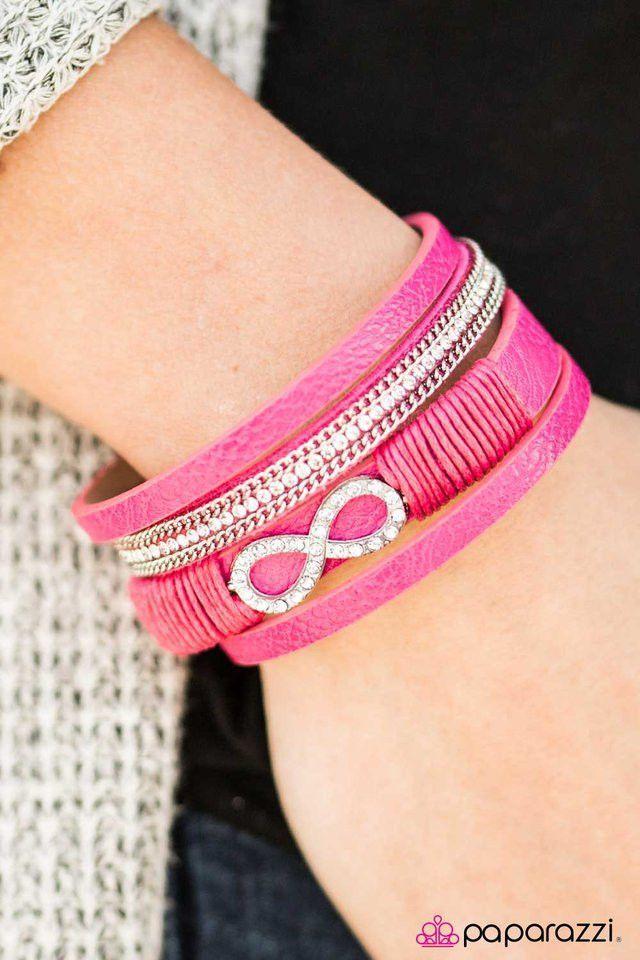 Happily FOREVER After - Pink Bracelet
