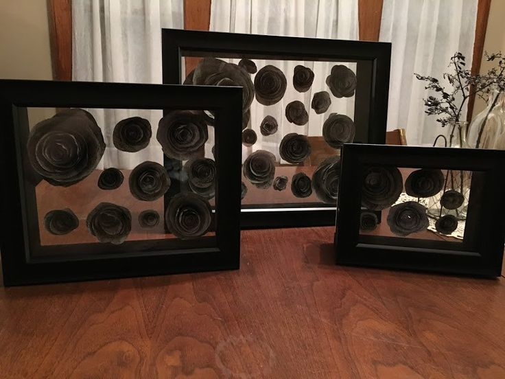 Life in the Burrow: Paper Flower Shadow Boxes