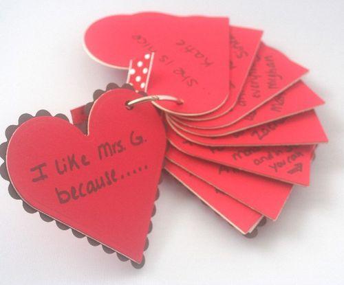 Valentine for teachers