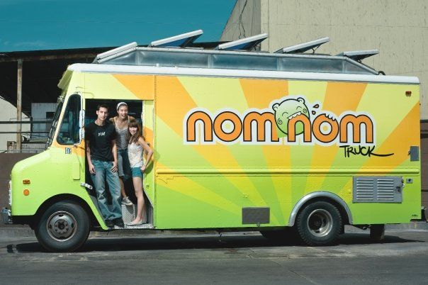 Nom Nom Truck, You want to munch in. So Cute