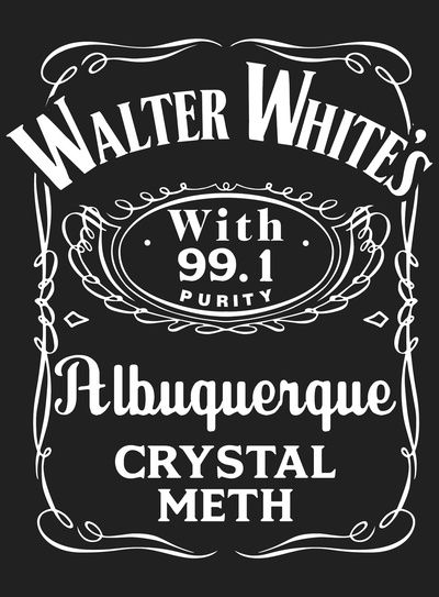 Walter White Pure Crystal Meth (Breaking Bad) by Aguvagu