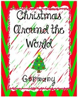 This file includes the following: -map of Germany -German flag -German anthem (link to video) -fairy tales from Germany (link to video) -famous castles in Germany including Cinderella's (link to video tour) -German dances (link to video to watch dance being performed) -German food -other things that originated in Germany (bicycle, gingerbread, Christmas trees) -comparison of O, Tannenbaum (German and American version...link to hear 3 versions) -German Christmas traditions for kids