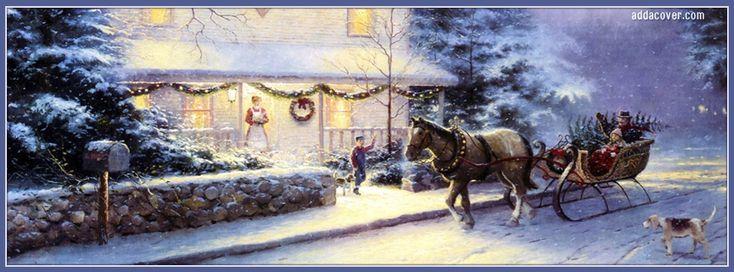Vintage Christmas Facebook Covers, Vintage Christmas FB Covers, Vintage…