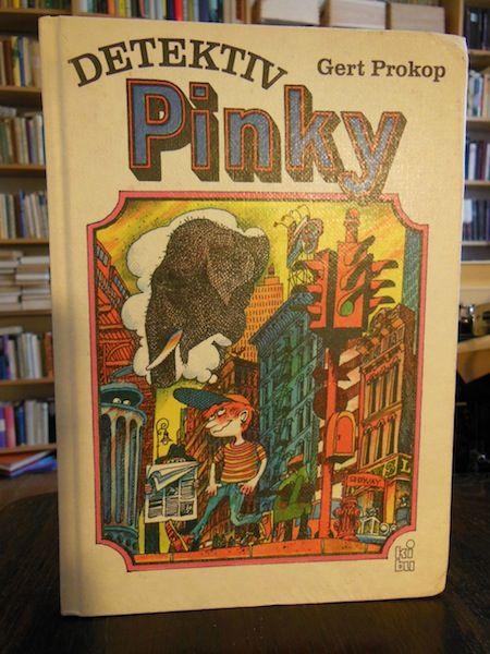 Gert Prokop: Detektiv Pinky. Jugendliteratur aus der DDR. Hatte mir damals gut gefallen und war so ganz anders, so spielt der Roman in den USA!