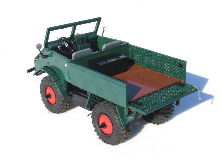 Lego technic Unimog 401 - 021 | by Tamas090