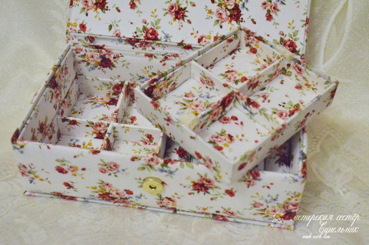 Шкатулка для украшений от пользователя «id1016743» на Babyblog.ru