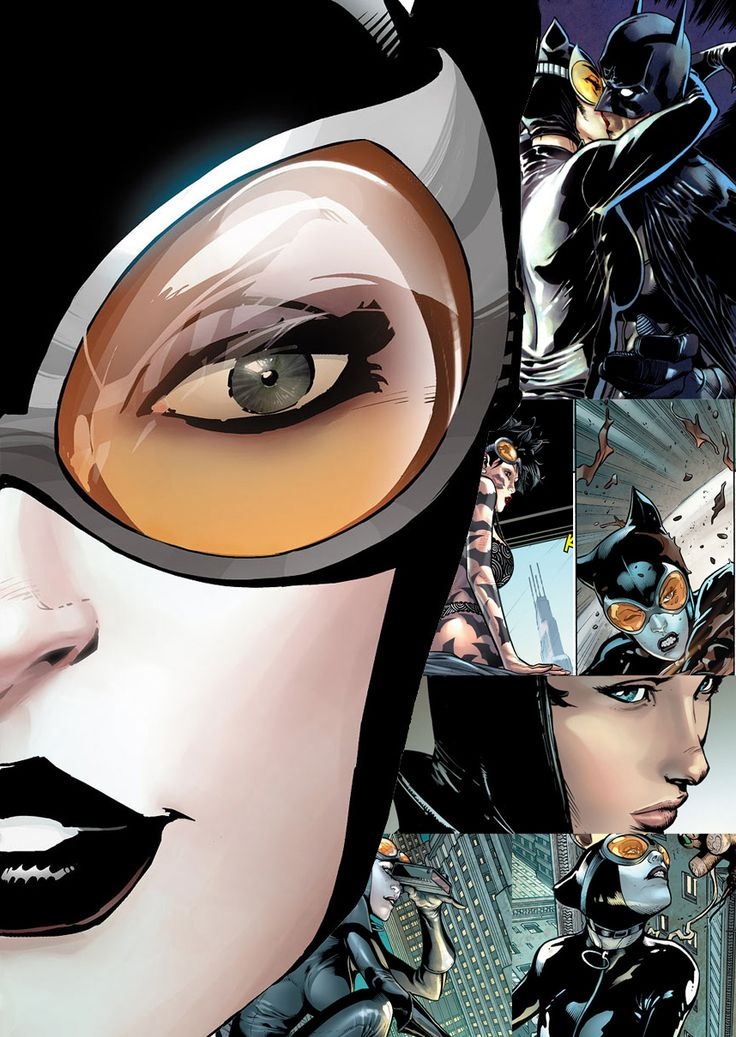 The new 52 Catwoman