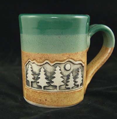 Woodland Forest Rustic Coffee Mug Cabin Fever